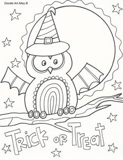 Coloring pages for kids Halloween coloring pages and Halloween