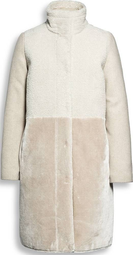 Quint rol mix coat Beaumont Mantel Quint Beige Teddy