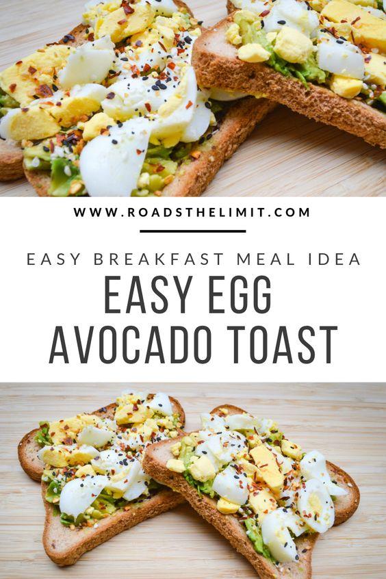 Make this quick Everything Bagel Egg Avocado Toast