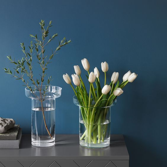 Limelight Vase #tulips, #tall, #enhances, #bunch