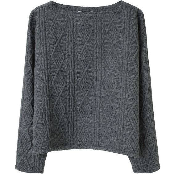Opening Ceremony Boatneck Pullover (€150) ❤ liked on Polyvore featuring tops, sweaters, shirts, jumpers, boat neck sweater, cable pullover, sweater pullover, boat neck shirt and cable knit sweater