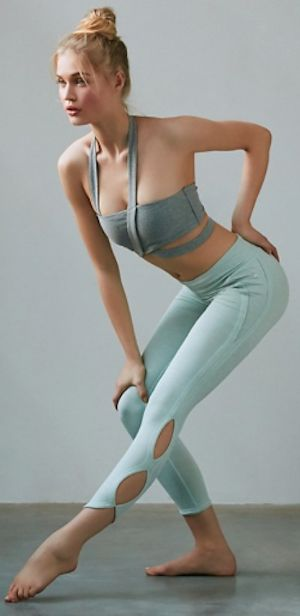 mint infinity leggings