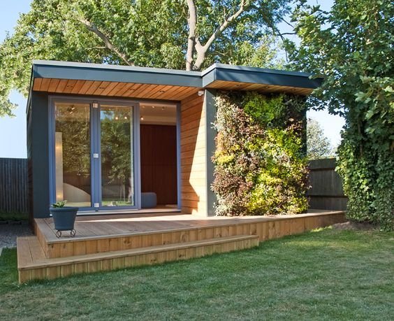 Small Shed Offices Turning Gardens Into Useable