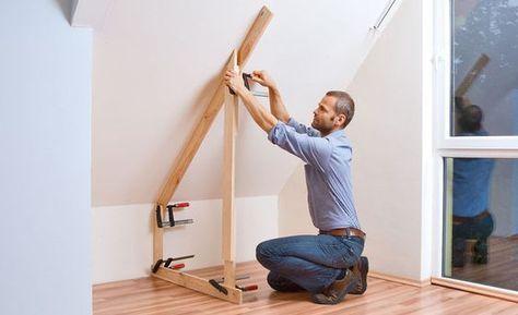 Drempelschrank Bauen Selbst De Schrank Bauen Dachschragenschrank Dach