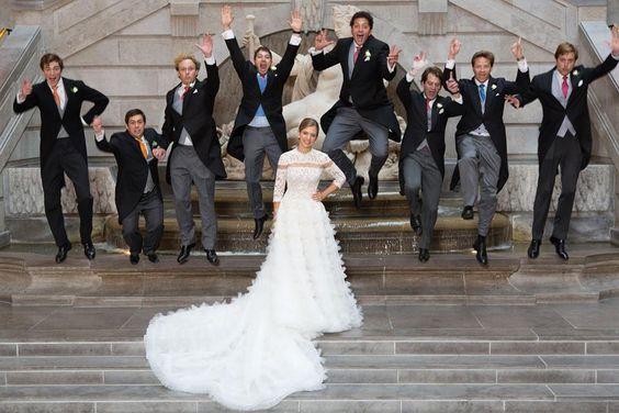 A Classic Belgian Wedding: Wedding Of Belgian Prince Hadrien De Croÿ-Roeulx To