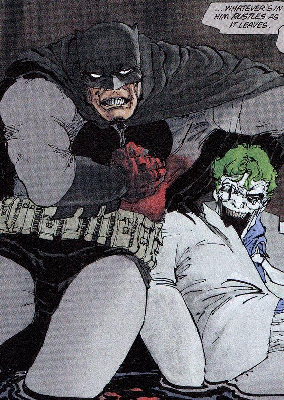 """Batman & Joker From The Dark Knight Returns #3 (1986)""""Hunt ..."""