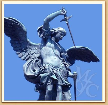 Angel statue at Castel Sant' Angelo, Rome