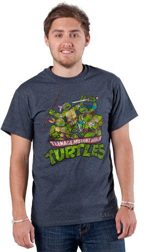 Amamos as Tartarugas Ninjas e outros ícones da TV dos anos 80/90