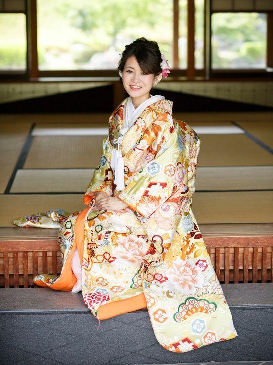 和装前撮り 大阪大仙公園でロケーション撮影された新郎新婦様