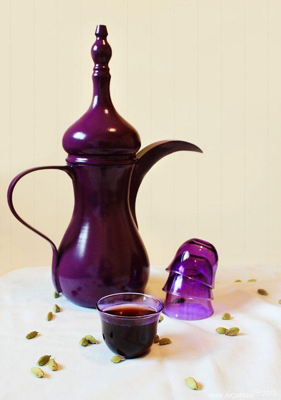 Arabic Coffee The Purple Coffee Love And Glasses