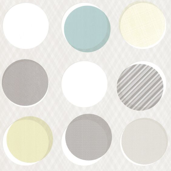 Button Wallpaper Roll Cool from Tres Tintas Barcelona by Emiliana Design Studio