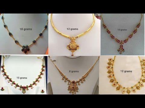 Pin By Nalmutyala On B Gold Necklace Short Necklace Jewelry