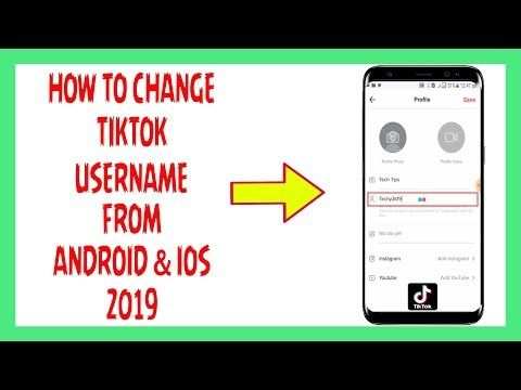 How To Change Tiktok Username From Android Or Ios 2019 Youtube Who Viewed My Facebook Wifi Password Change