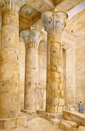 The Temple Of Philae, Egypt