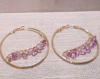 XXL Go BIG Or Go HOME Gold Hoop Earrings - More Colors