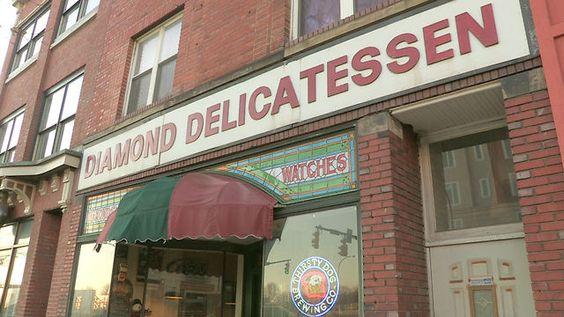 Diamond Deli, for the best sandwich in town!
