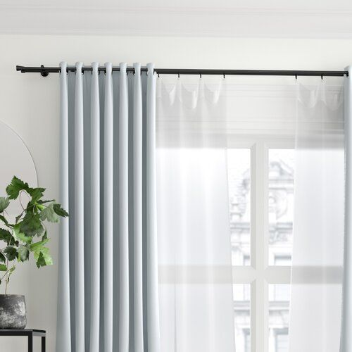 Symple Stuff Curtain Rod In 2020 Curtain Rods Curtain Poles