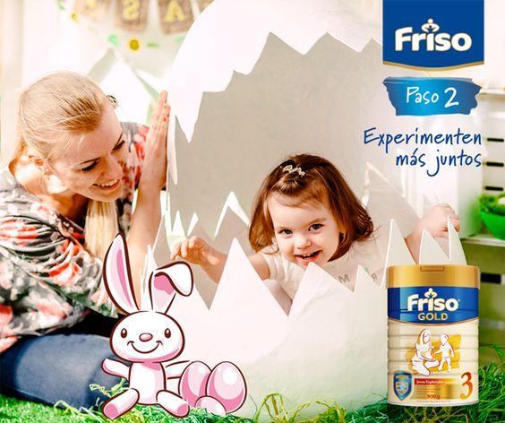 Juego, imaginación, más tiempo con mamá... ¡Pascua para nuestros pequeños significa pura diversión!