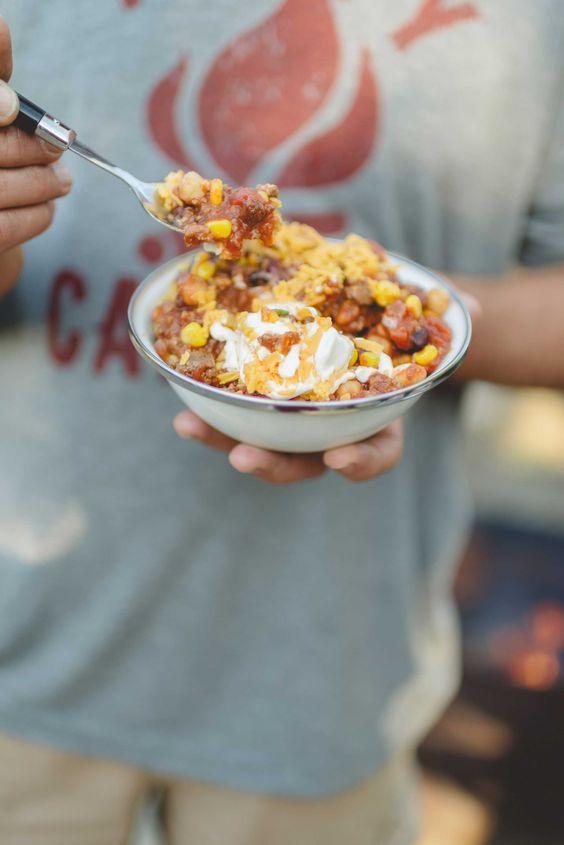 Chili & Cornbread by Tiffani Thiessen • Photography by Rebecca Sanabria