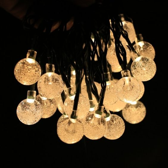 New Solar Powered 30 LED String Light For Room Garden Home Christmas Party Decoration