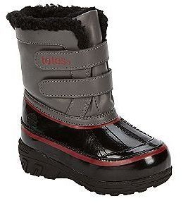 Totes Kids Brandon Winter Boot, Black/charcoal/red (7) Totes. $29.99