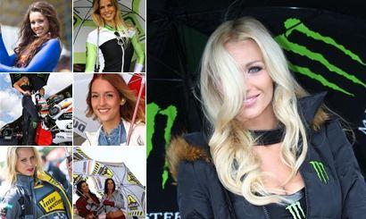 Paddock Girls in Assen MotoGP 2013