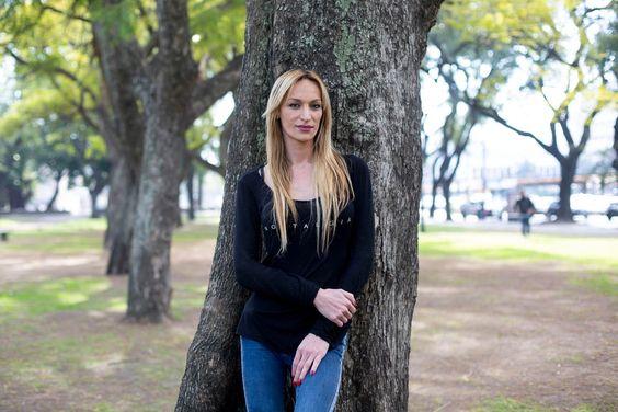 Maryanne Lettieri, actriz, profesora del Bachillerato Popular Trans Mocha Celis y responsable del área de inserción laboral de la institución. Crédito: Victoria Gesualdi/AFV