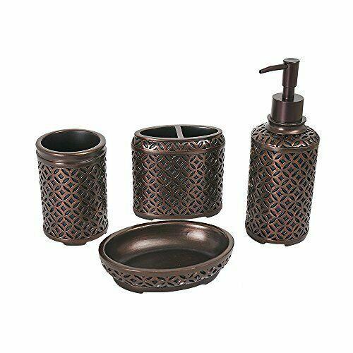 Oil Rubbed Bronze Bathroom Accessories Glass And Oil Rubbed Bronze Ba Bronze Bathroom Accessories Oil Rubbed Bronze Bathroom Accessories Bath Accessories