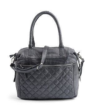 dark Blue Leather Bag Cox