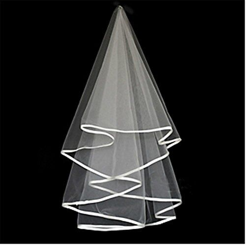 SNW Simple Bridal Veil Lace Wedding Veil for Wedding Party Prom Shopping New World Gloves http://www.amazon.com/dp/B00YHGJZEU/ref=cm_sw_r_pi_dp_TIm.wb10TMCWZ