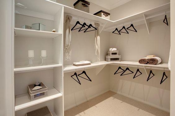 Walk In Robe In The Master Bedroom Suite Monaco Design By