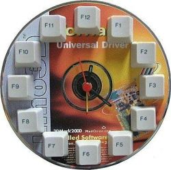 Don't listen to CD's anymore? Use a CD and the keys from an old keyboard to build a creative clock like this. Thrifty Ninja shows you how.
