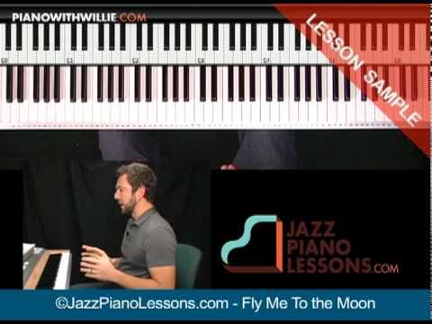 http://www.pianowithwillie.com/ I will teach you how to play this song in a solo/cocktail piano style. If you want to be able to open the Real Book and just ...