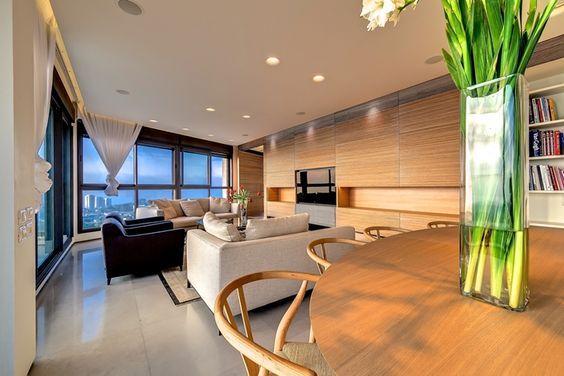 Penthouse apartment in Haifa by Alex Menashe