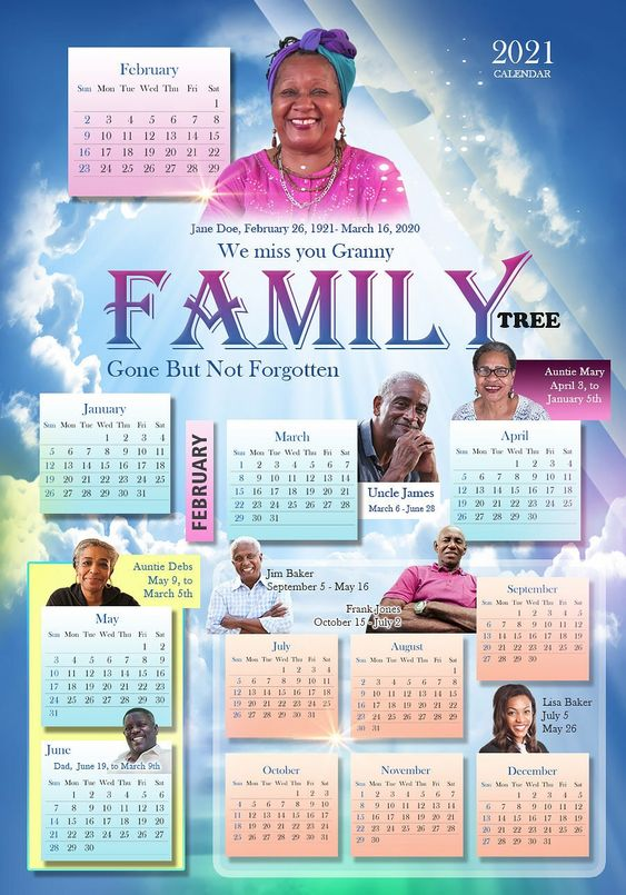 Personalized Custom Calendars Barbados