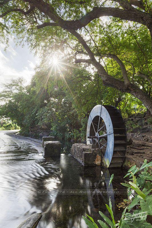 Moulin à eau Tour des Roches,#îledelaRéunion #RéunionIsland