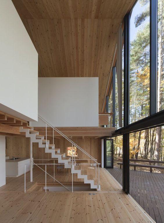 justthedesign: Living Room, Yamamoto House, Ken Yokogawa Architect & Associates