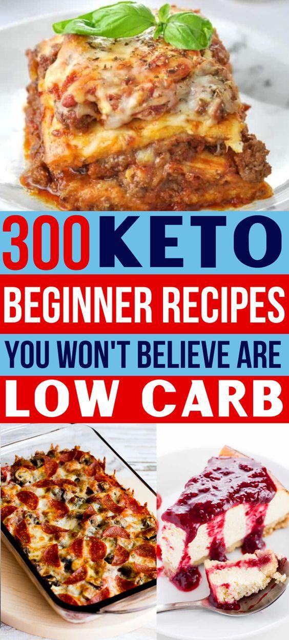 300 Best Ketogenic Recipes For Keto Diet Beginners