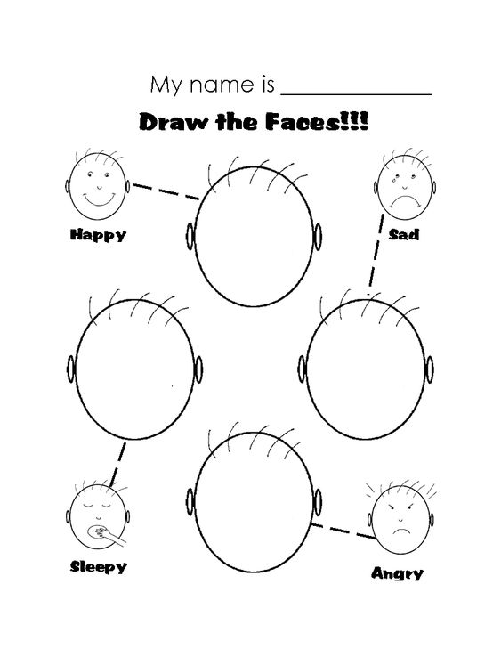 printable worksheets on emotions - Google Search | autistic ...