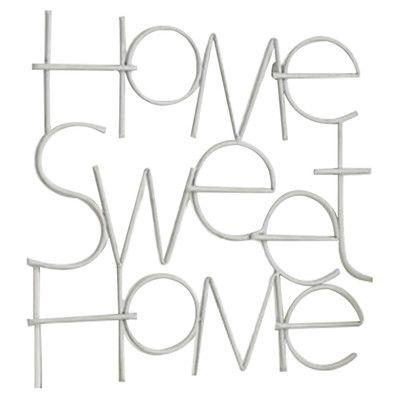 Sweet Home Art Wall Décor