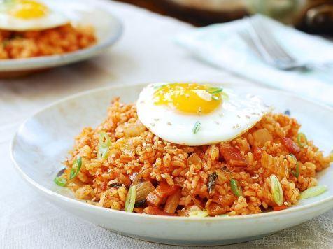 Resep Nasi Goreng Kimchi Ala Korea Iniresep Com Resep Resep Makanan Memasak Resep