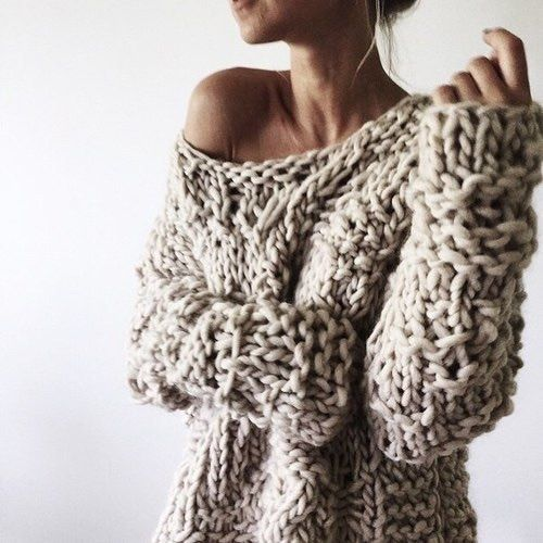 Chunky knits, Knits and Sweaters on Pinterest