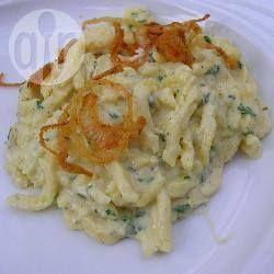 Spätzle mit Gorgonzolassauce @ de.allrecipes.com
