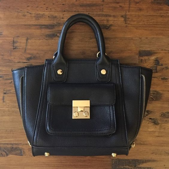3.1 Phillip lim for target mini Pashli-- black Like new, has cross body strap included, no imperfections 3.1 Phillip Lim for Target Bags Crossbody Bags