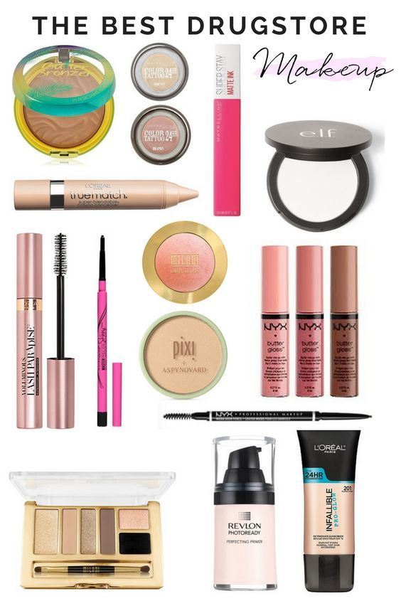 The Best Drugstore Makeup On Amazon Best Drugstore Makeup Drugstore Makeup Best Makeup Products