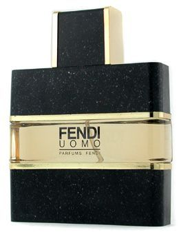 Fendi's Uomo is a Woody/Spicy fragrance for men launched in 1988 - and now sadly discontinued :-(   Top notes are coriander, lavender, bergamot, angelica, marjoram and lemon; middle notes are cyclamen, carnation, cypress, iris, cinnamon, jasmine and rose; base notes are leather, amber, patchouli, musk, coconut, vanilla, vetiver and cedar.
