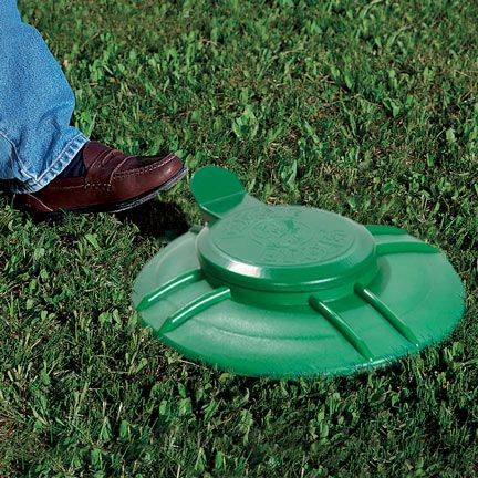 Doggie Dooley waste disposal systems install in the ground to provide quick, easy cleanup of dog waste. Works like a home septic system!