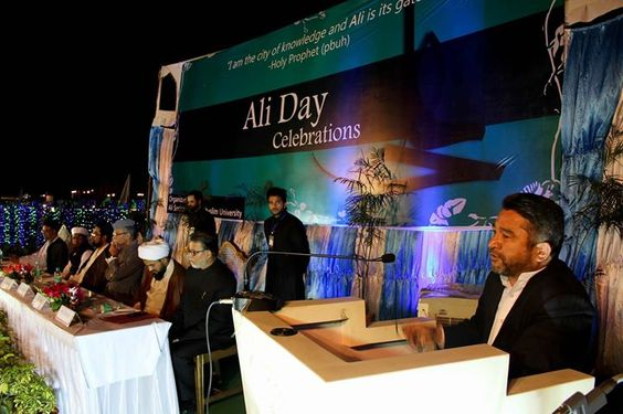 Ali Day Celebrations - Aligarh India   (13 Rajab 1437 - 2016 - Aligarh India)  The Aligarh Muslim university celebrates the birth anniversary of Hazrat Ali (a.s) as Ali Day which is celebrated with great zeal and enthusiasm without any distinction of religion or region. The Ali Day is marked with a book exhibition in the Maulana Azad Library in the day time in which some rare manuscripts including the holy quran written by Hazrat Ali a.s 1400 years ago is diplayed. The book exhibition is…