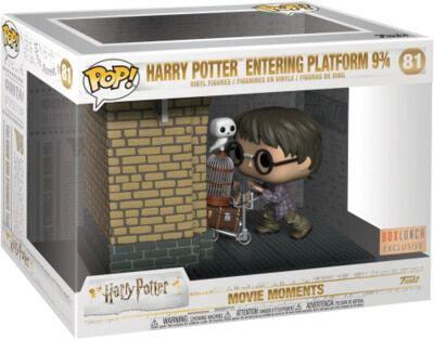 >81 Harry Potter Entering Platform 9 3/4 Funko Pop