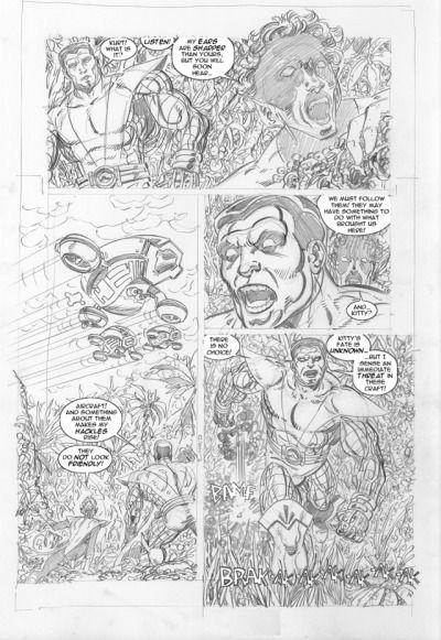 Pin By Michael Finnigan On Back2black John Byrne The Incredibles John